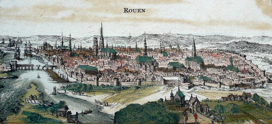 Rouen Map Comparisons